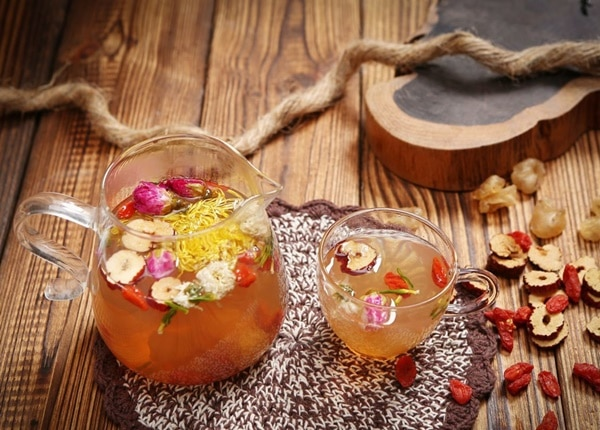 Công thức làm trà hoa ngũ cốc không cố định mà tương đối linh hoạt