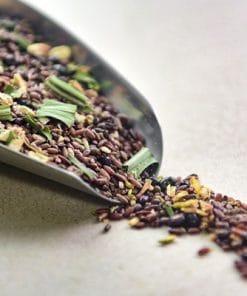 Liều dùng tối đa là 2 – 3 muỗng trà hoa ngũ cốc trong 1 ngày