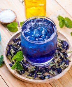 Dùng trà hoa đậu biếc thường xuyên giúp phòng ung thư