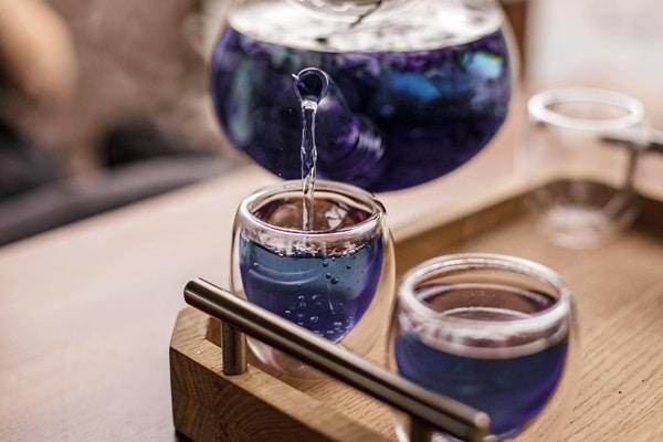 Bạn có thể pha trà đậu biếc độc vị