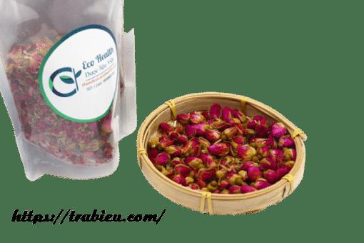Sản phẩm trà hoa bông cao cấp của Trà Biếu
