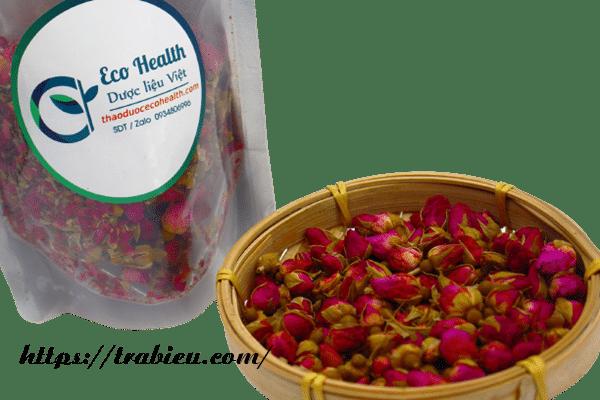 Uống trà hoa hồng Eco Health của Trà Biếu giúp bạn giảm cân, duy trì vóc dáng thon thả