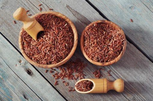 Gạo lứt còn được gọi là gạo rằn, gạo lật