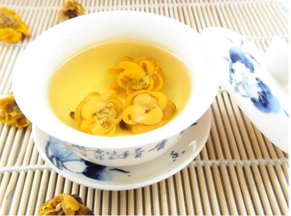 Chè hoa vàng có vị ngọt, mùi thơm, tính bình