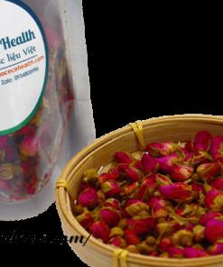 Hoa hồng khô cũng là nguyên liệu làm trà detox phổ biến