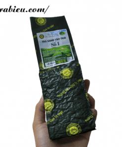 Trà Biếu đang đưa ra thị trường sản phẩm trà Thái Nguyên cao cấp mang tên trà xanh Tâm Thái số 1