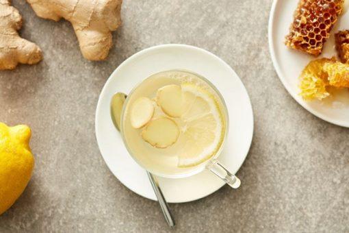 Bạn có thể uống trà gừng để làm mềm, trẻ hóa làn da