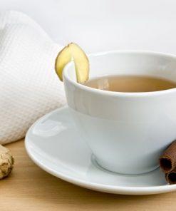 Uống quá nhiều trà gừng có thể gây khó chịu trong bụng