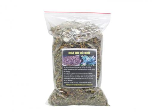 Uống trà hoa đu đủ (hoa đu đủ khô) cũng là liệu pháp giảm cân an toàn cho chị em