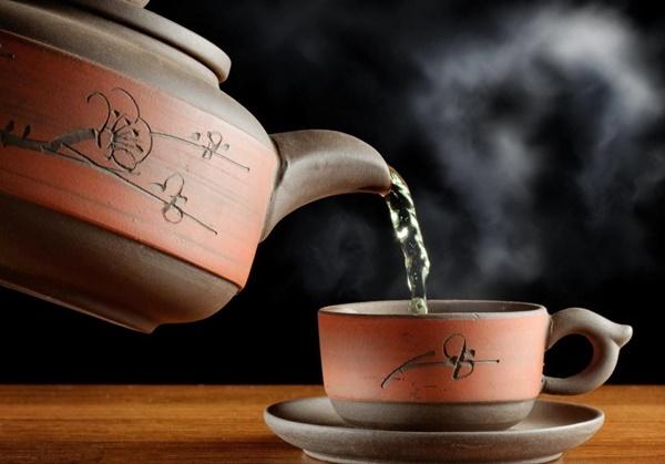 Có thể pha trà hoa hòe như trà xanh