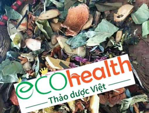 Lá tắm Dao Đỏ mang thương hiệu Eco-health của Trà Biếu luôn khô, sạch, đảm bảo an toàn cho sức khỏe